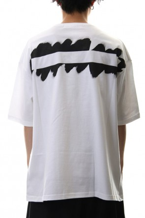 Ground Y 20SS Painted Big T-Shirt typ.A White