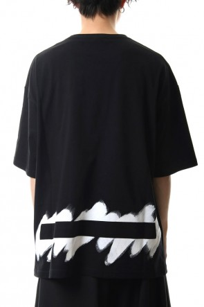 Ground Y 20SS Painted Big T-Shirt typ.B Black