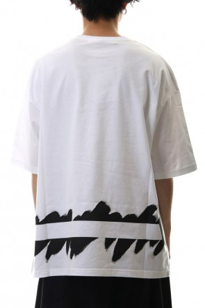 Ground Y 20SS Painted Big T-Shirt typ.B White