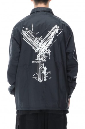 Ground Y 20-21AW Logo A coach jacket