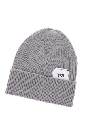 Y-3ClassicY-3 CLASSIC BEANIE Solid Gray
