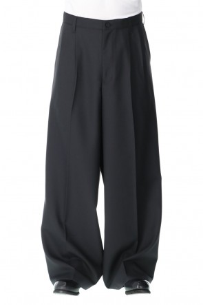 Ground Y 21SS Tuck Wide Pants