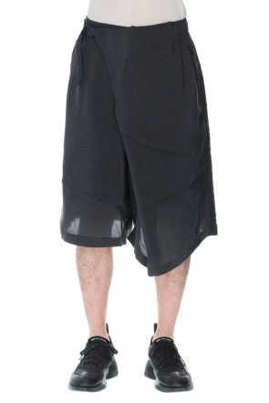 Y-321SSSanded Cupro Shorts