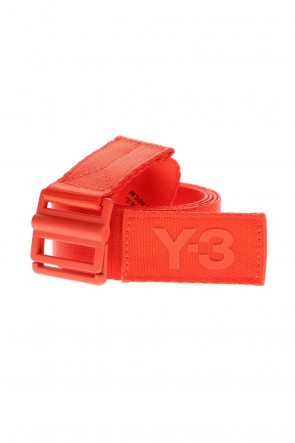 Y-3 21SS Classic Logo Belt Blaze Orange