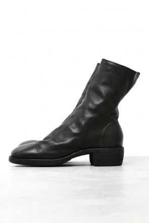 GuidiClassicSide Zip Boots Double Sole - Horse Full Grain Leather