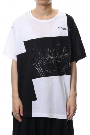 Ground Y 18-19AW EVA Mari Graphic T