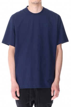 Y-3 21SS Classic Chest Logo SS Tee Collegiate Navy