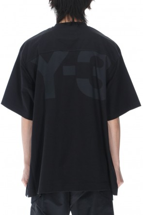 Y-3 21SS Classic Paper Jersey SS tee Black
