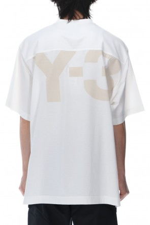Y-3 21SS Classic Paper Jersey SS tee Core White