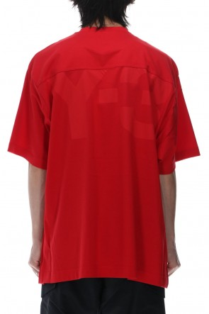 Y-3 21SS Classic Paper Jersey SS tee Scarlet