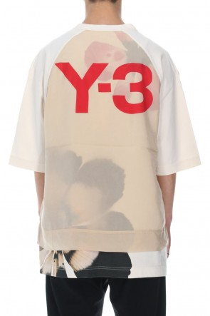 Y-3 21SS Raw jersey GFX SS Tee Floral