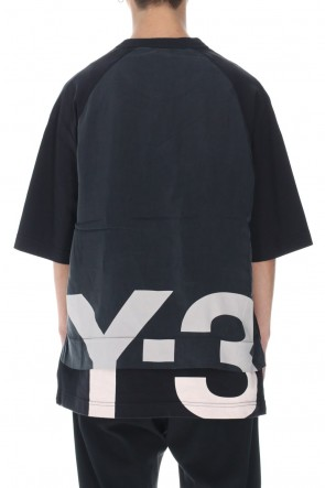 Y-3 21SS Raw jersey GFX SS Tee Logo