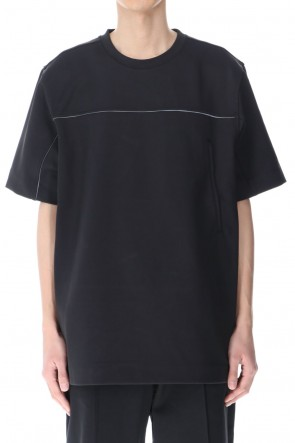 Y-321SSCOVER KNIT SHELL SS TEE