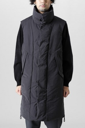 Y-321-22AWSueded Poly Down Vest