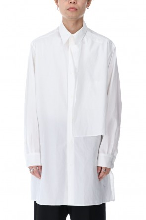 Yohji Yamamoto 20-21AW No Fixing Broad Cloth Shirt