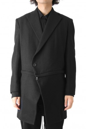 JULIUS 17-18AW SLASHING TAILORED JACKET