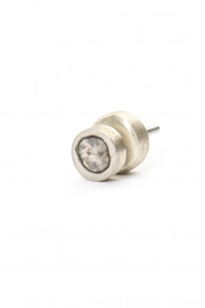 Parts of Four 18-19AW Stud Earring (0.2-0.3 CT, Single S-Stone)