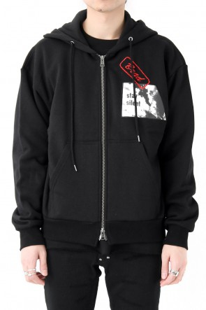 DIET BUTCHER SLIM SKIN 18SS Artwork Patch Hoody