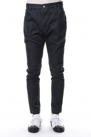 RIPVANWINKLE 18-19AW 12oz Natural Stretch Denim Jodpurs Pants RB-018 B.INDIGO