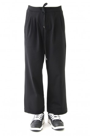 DIET BUTCHER SLIM SKIN 18SS Ankle Cut Wide Pants