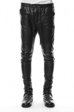 RIPVANWINKLE 18-19AW Slim Easy leather Pants RB-030