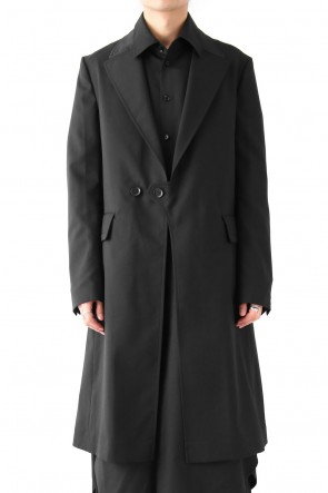 Ground Y 18SS Tab Coat Double Serge