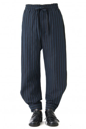 DAMIR DOMA 18SS Striped Cotton Wide Pants PRENIO