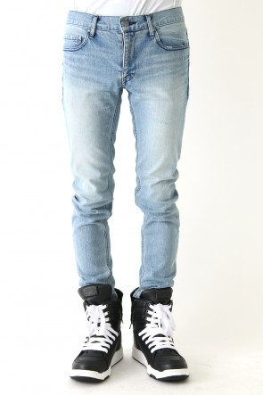 DIET BUTCHER SLIM SKIN 18SS Used Skinny Denim Pants