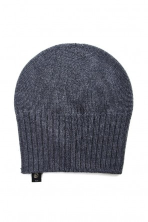 wjk 18-19AW 2-way knit cap - charcoal
