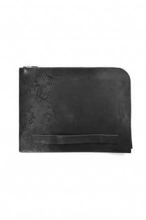 "sinistra 18-19AW Clutch Bag ""Doc"""