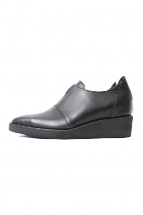 GalaabenD 18SS SMOOTH OIL COW SLIP-ON SHOES / PALTFORM SOLE