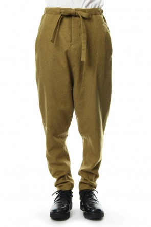 Hannibal 18-19AW Trousers. haymon