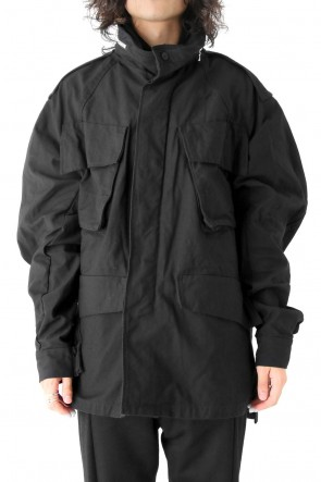JULIUS 17-18AW OVER FIELD JACKET