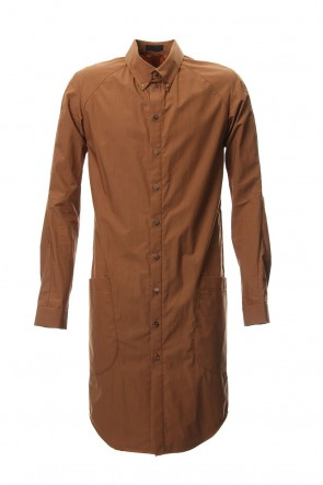 DEVOA 18-19AW Long Shirt Cotton Hard Wash