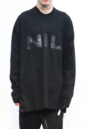 NILøS 19-20AW NIL LONG SLEEVE SHIRT Black