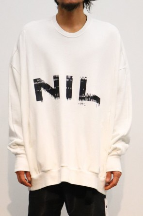NILøS 19-20AW NIL BIG SWEAT White