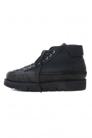 The Viridi-anne 19SS Platform sneakers Black
