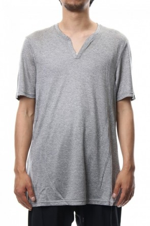 CIVILIZED 18SS CRACK NECK S/S - CM-1601 - Gray