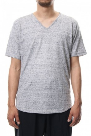 CIVILIZED 18SS V NECK LOOSE S/S - CM-1200 - MELANGE GRAY