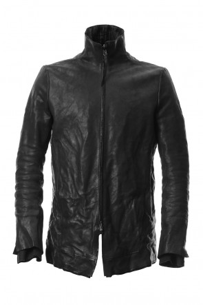 SADDAM TEISSY 19-20AW Horse leather High neck jacket - ST105-0059A