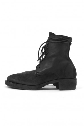 Guidi 18-19AW Laced Up Boots Double Sole - 795Z CORDOVAN CONT