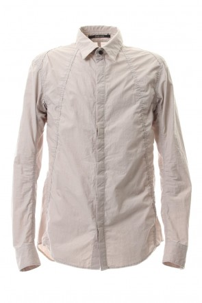 SADDAM TEISSY 20SS Light Typewriter Buckling Shirt