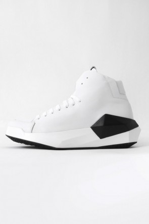 CINZIA ARAIA 17SS 17SS DYAMONT Geometric Leather Sneaker  CALF / WHITE