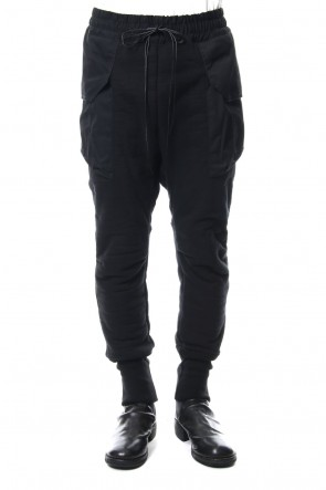 The Viridi-anne 18-19AW Heavy Pile Boa Pants Black