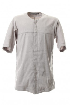 SADDAM TEISSY 20SS Stretch Linen × Viscose Minimal Shirt