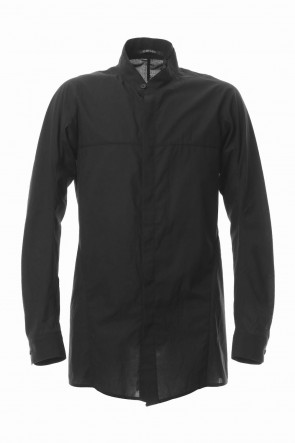 SADDAM TEISSY 20SS Charcoal Texture Emboss Broadcloth Long Shirt