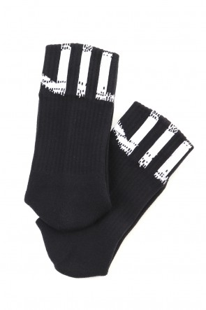 NILøS 19-20AW NIL SOCKS Black