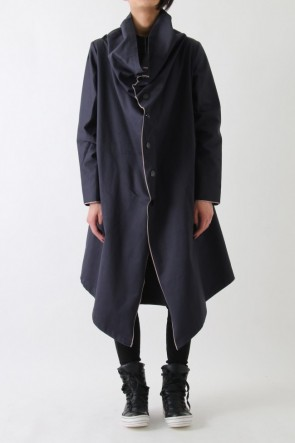 "by H New York 17SS 17SS ""RIM"" selvedge edge flat cut coat"