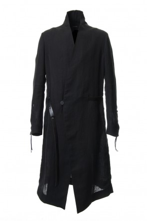 SADDAM TEISSY 19SS Linen gown coat - ST106-0019S