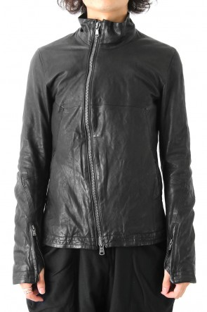 The Viridi-anne 17-18AW Lamb Leather Jacket Smooth